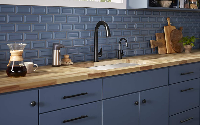 Which Sink Color Suits Best with Black Kitchen Faucet