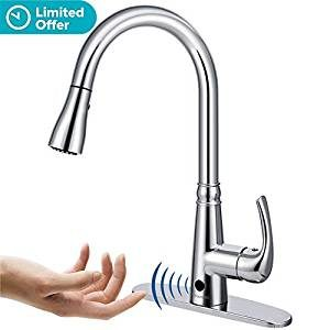 BOHARERS Sensor Touchless Kitchen Faucet