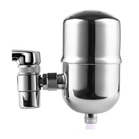 Engdenton Faucet Water Filter Stainless-Steel Reduce Chlorine High Water Flow, Water Purifier with Ultra Adsorptive Material