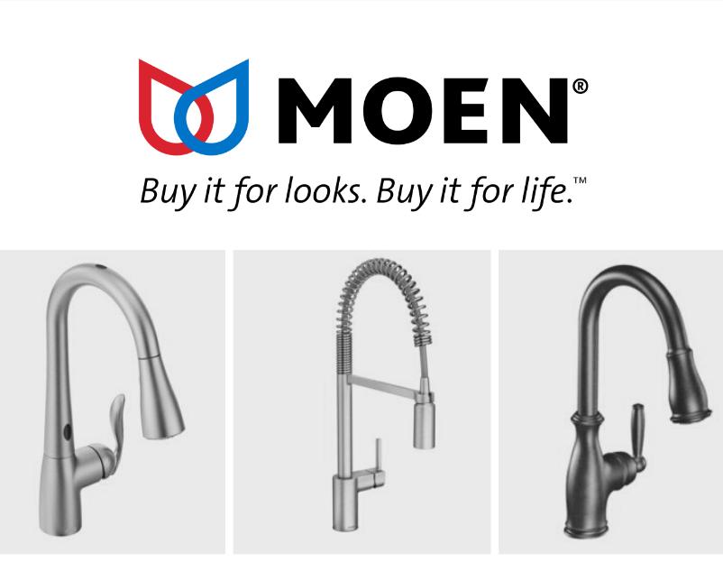 Moen - most reliable kitchen faucet brand