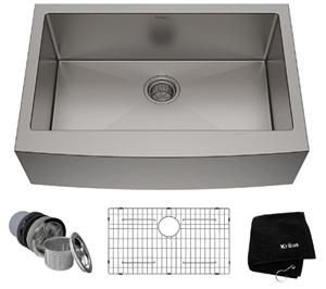 Kraus KHF200-30 Standart PRO Kitchen Stainless Steel Sink