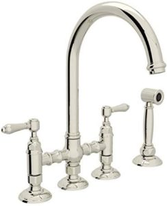 ROHL A1461LMWSPN-2 BRIDGE KITCHEN FAUCETS