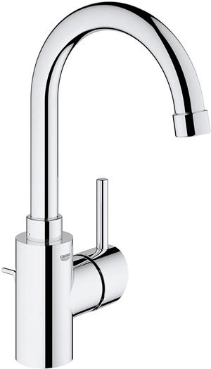 Concetto L-Size Single-Handle Single-Hole Bathroom Faucet