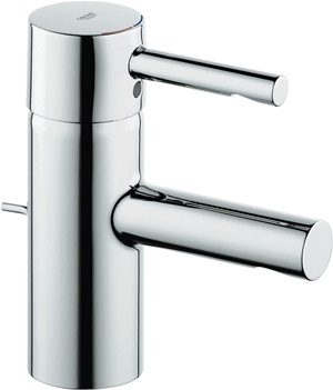Essence New Single-Handle Single-Hole Low Arc Bathroom Faucet