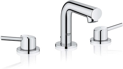 Grohe 20572001 Concetto Widespread Bathroom Faucet, Starlight Chrome - Best Grohe Bathroom Faucets Reviews