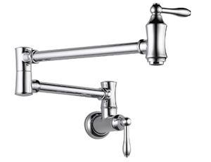 Delta Traditional Wall-Mount Pot Filler Faucet Review