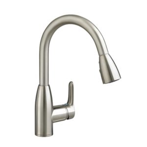 American Standard 4175300.075 Colony Soft 1 Handle High Arc Pull Down Kitchen Faucet