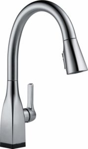 Delta Faucet Mateo Single-Handle Touch Kitchen Sink Faucet with Pull Down Sprayer, Touch2O and ShieldSpray Technology, Magnetic Docking Spray Head, Arctic Stainless 9183T-AR-DST