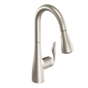 Moen 7594SRS Arbor One-Handle Pulldown Kitchen Faucet