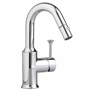 American Standard 4332.410.002 Pekoe Bar Faucet with Pull-Down Spray, Polished Chrome