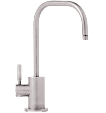Waterstone 1425H-SN Fulton Filtration Faucet Hot Only Single Handle, Satin Nickel