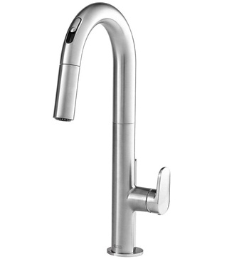 American Standard 4931380.075 Beale Single-Handle Pull Down Kitchen Faucet with Selectronic Hands-Free Technology in Stainless Steel