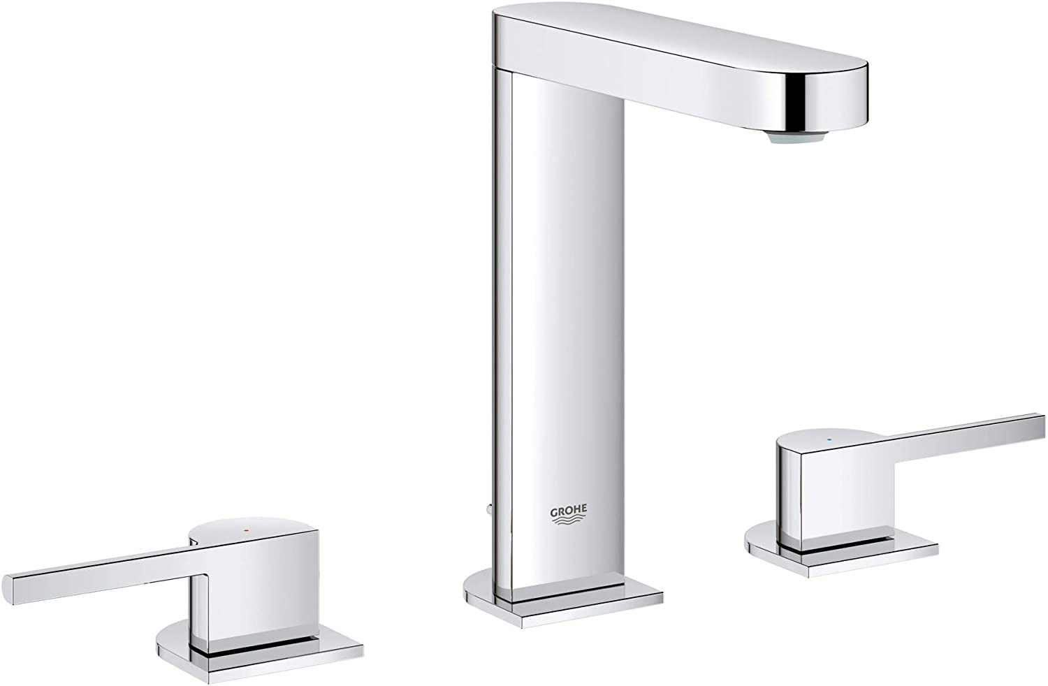 Grohe 20302003 Plus 8 inch Widespread Two-Handle Bathroom Faucet
