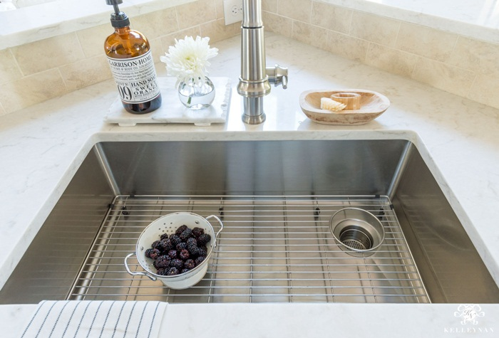 Consider the design of your kitchen and make a list of what you want to include