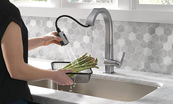 consider brand of kitchen faucet