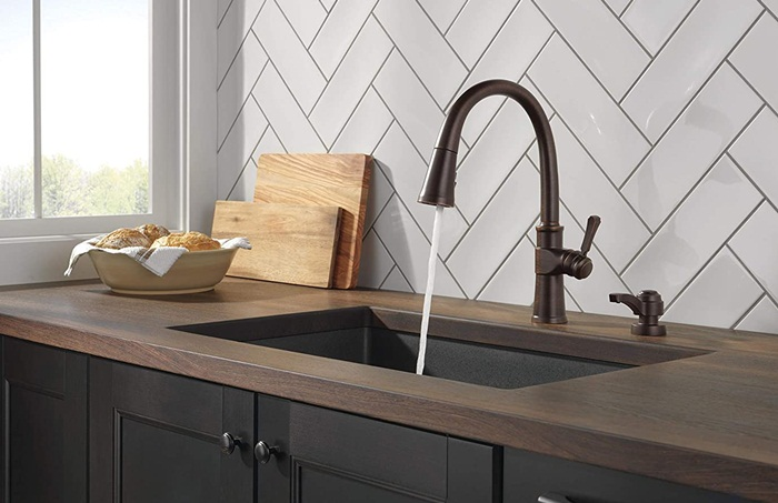 consider water pressure of kitchen faucet